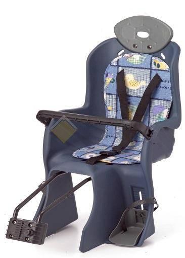Детское кресло на подседельный штырь